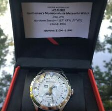 New listing Meteorite watch Muonionalusta. Worn once. Owned since 2017. Needs a new battery