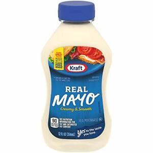 Kraft Mayo Real Mayonnaise (12 oz Bottle)