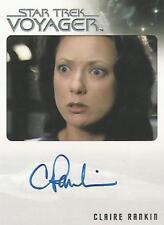 "Star Trek Voyager Heroes & Villains: Claire Rankin ""Alice"" Autograph Card"