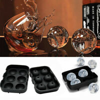Whiskey Ice Cube Ball Maker Molds Sphere Mould Party Tray Round Bar Silicone Lot