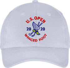 2020 US Open Winged Foot Golf Club Tournament Embroidered Golf Hat Cap