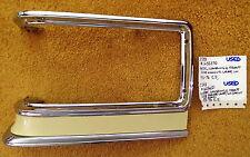 1975-76 Cadillac LH Cornering/Parking Lamp Chrome Bezel/Painted Insert - Nice!