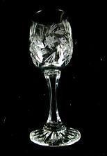 Crystal Clear Industries Monica 4 Cordial / Aperitif Goblets / Glasses Pinwheel