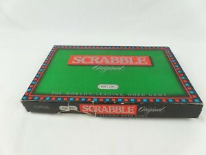 Vintage 1988 Spears Scrabble Fun Family Educational Word Board Game