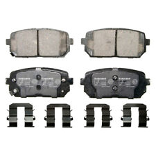 Disc Brake Pad Set Rear Federated D1296 fits 07-12 Kia Rondo