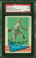 SGC Authentic Original Autograph of Waite Hoyt HOF of the New York Yankees