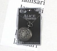 Disney Alice in Wonderland No Time To Say Hello Rabbit Pocket Watch Necklace