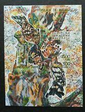Madagascar Birds 1991 Fauna (miniature sheet) MNH *imperf