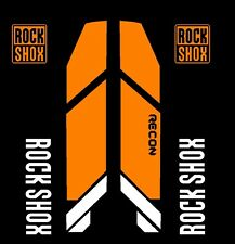 Rock Shox Recon 2013 Replacement Color Matched Decal Kit