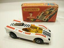 Matchbox STREAKERS 7 HAIRY HUSTLER 1974 Original Box w/Display Case NM FREE Ship
