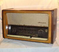 VINTAGE 1959 MELODIA RS 59 * МЕЛОДИЯ РС 59 * TUBE RADIO BULGARIAN
