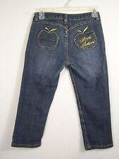 Apple Bottoms Girls Jeans Straight Leg Size 12