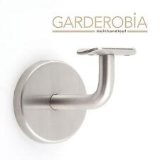 Garderobia Edelstahl Handlaufhalter Handlaufträger Bestpreis m. Halbschale *NEU*