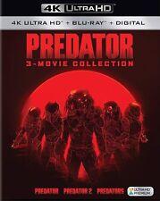 PREORDER: PREDATOR 1 2 & 3 TRILOGY  (4K ULTRA HD) - Blu Ray -Region free