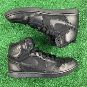 NIKE AIR JORDAN 1 RETRO HIGH - SIZE 13 ANTHRACITE OSTRICH BLACK 332550-002 RARE