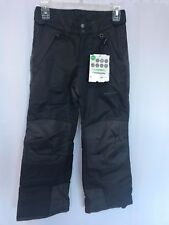 Arctix Youth Reinforced Insulated Water-Resistant Snowboard Ski Pant Gray XS 6-7