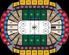 Boston Bruins @ Minnesota Wild 2 AISLE tickets 3-25-2018 NHL