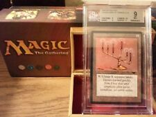 Antiquities Candelabra of Tawnos BGS 9 Mint Magic The Gathering MTG 1994 Wow