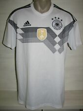GERMANY 2017-18 HOME SHIRT ADIDAS BR7843 SIZE L
