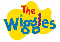 IRON ON TRANSFER or STICKER - THE WIGGLES LOGO - COSTUME T-SHIRT dress up