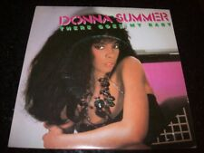 """PROMO 7"""" Single P/S 45 - DONNA SUMMER - There Goes My Baby - 1984 - Brazil"""