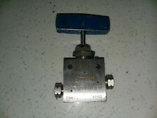 """Autoclave Engineers 30Vm4071 1/4"""" Needle Valve 30,000 Psi Stainless Steel 316Ss"""