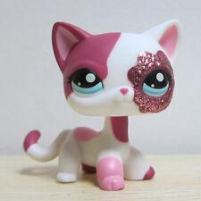 Littlest Pet Shop Animals Collection LPS Toys Sparkle Glitter Floral Cat Kitten