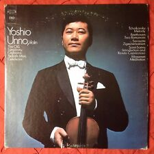 Yoshio Unno Tchaikovsky Melody LP Columbia MS7411 Two Eyes