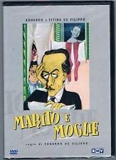 MARITO E MOGLIE EDUARDO E TITINA DE FILIPPO DVD SIGILLATO!!!