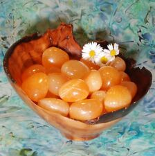 1 ORANGE CALCITE Tumbled Stone - Consciously Sourced Healing Crystals
