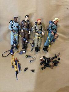 Diamond Select Real Ghostbusters Action Figure Lot Egon Spengler Venkman + extra
