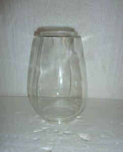 Vintage Glass Chimney Globe for Kerosene Railroad Barn Lantern   #1