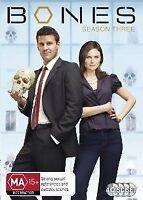 Bones : Season 3 (DVD, 2009, 4-Disc Set) DVD New/Sealed Region 4
