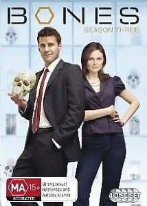 Bones : Season 3 (DVD, 2009, 4-Disc Set) NEW+SEALED