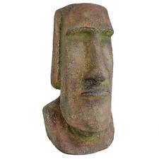 Easter Island Moai Monolith Medium Statue Polynesian Garden Sculpture