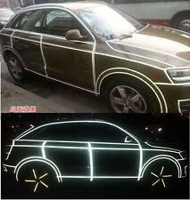 Auto Sport Car Reflective Stripe Sticker Body Racing Cool Decal Body Stickers