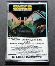 Meco: Encounters Of Every Kind. CASSETTE TAPE. Vintage. BRAND NEW!