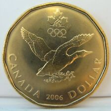 From a new roll BU $1 2008 RCM Lucky Loonie