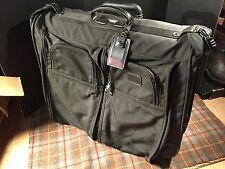 TUMI Black Garment Suitcase Large Classic Style Some Exterior Wear Nice !