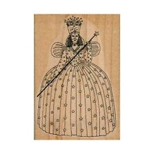 NEW LARGE Glinda The Good Witch RUBBER STAMP, Wizard of Oz, Halloween Stamp