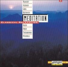 Meditation: Classical Relaxation, Vol. 2 (CD, Mar-1991,Laserlight) L/N FREE SHIP