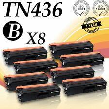 8PACK TN436 BLACK Toner for Brother MFC-L8610CDW MFC-L8900CDW MFC-L9570CDW PRINT