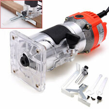 800W 220V Wood Trim Router 6.35mm Collect Diameter Electric Hand Trimmer