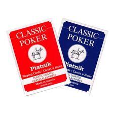 Piatnik Nr. 1321 - Classic Poker, 55 Blatt, 63 x 88 mm, kunststoffbeschichtet