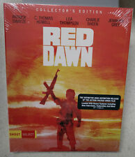 Red Dawn Blu-Ray NEW/SEALED WITH SLIPCOVER Shout Factory Select