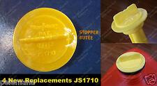 4 Scepter Stopper Cap Disk JS1710 710 New Repl. Gas Gallon Can Disc Part Moeller