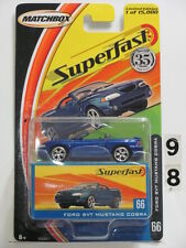 Matchbox 2004 35Yrs Superfast Ford Svt Mustang Cobra #66