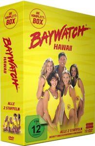 Baywatch -Season 1+2 Hawaii TV Series -David Hasselhoff, Angie Harmon NEW R2 DVD