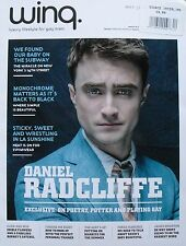 DANIEL RADCLIFFE  May 2014 WING MAGAZINE   Luxury Lifestyle For Gay Men