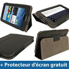 Étui Housse Case Noir Cuir PU pour Samsung Galaxy Tab 2 P3100 P3110 7.0 3G WiFi